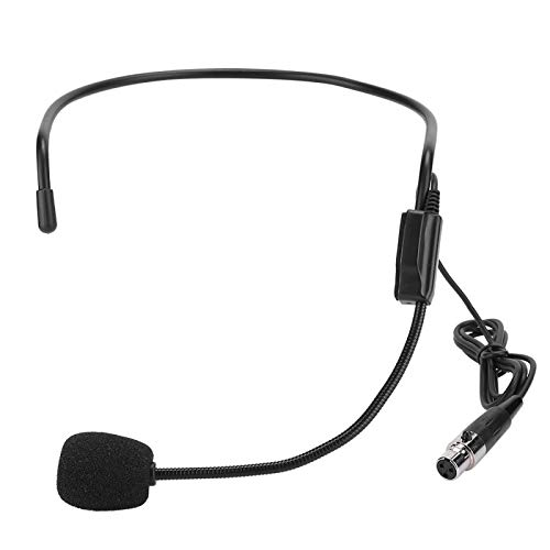 DAUERHAFT Amplificador TA3F Plug Micrófono Mini micrófono Mini Cómodo, para Deportes de Alto Rendimiento