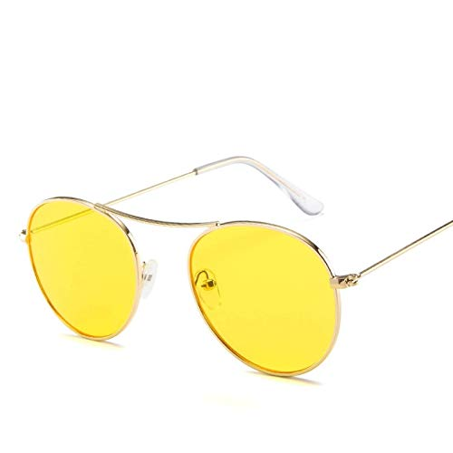 ShSnnwrl Único Gafas de Sol Sunglasses Gafas De Sol Coreanas De Moda para Mujer, Lentes Transparentes Transparentes para Hombre,