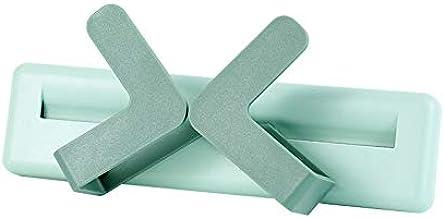 Het Potdekselframe Is Ponsvrij En Verstelbare Keukenopbergruimte Aan De Muur groen