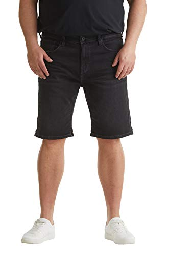 ESPRIT Herren 030EE2C309 Shorts, 912/BLACK MEDIUM WASH, 44