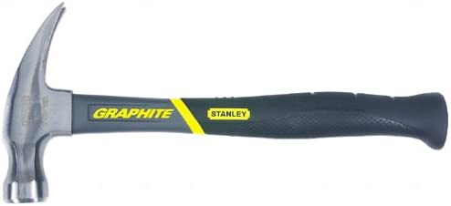 Stanley 51-506 16-Ounce Over item handling ☆ Philadelphia Mall Rip Hammer Jacketed Claw Graphite