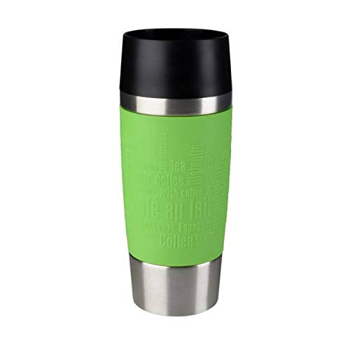 EMSA Isolierbecher City Mug Sommer-Edition (Grün, Limette)