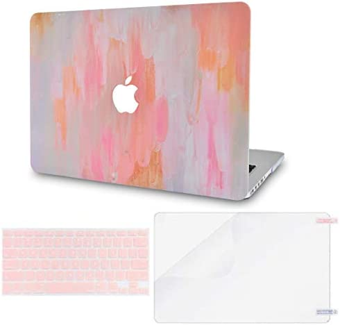 LuvCase 3 in 1 Laptop Case Compatible with MacBook Air 13 Inch 2010 2017 A1466 A1369 No Touch product image