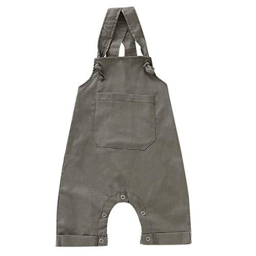 Julhold Peuter Kids Baby Meisje Jongen Mode Overalls Broek Casual Losse Katoenen Broek Suspender Denim Jeans 0-18 Maanden
