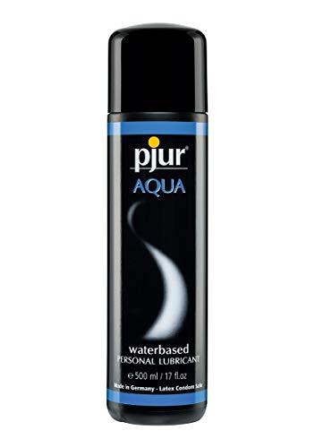 AQUA - Premium-Lubricante acuoso - Excelentes propiedades lubricantes, hidrata y no se pega - para juguetes sexuales - pack de 1 (1x 500ml)