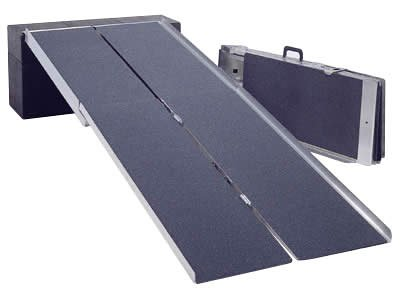 ポータブルスロープアルミ4折式 2.1M