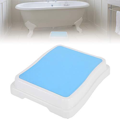 Marche de bain, 10 cm de salle de bain antidérapant modulaire d'aide pour ENTRER dans et hors de douche texturé empilable Réglage en hauteur de sécurité Tabouret antidérapant de cuisinsupport