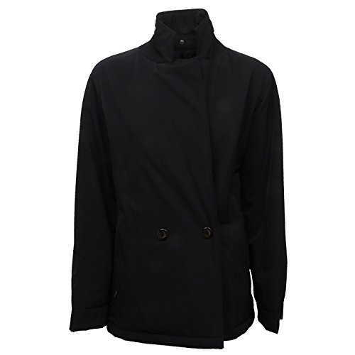 MaxMara D5122 Giacca Donna Rainwear Tandem Nero Balck Jacket Woman [42]