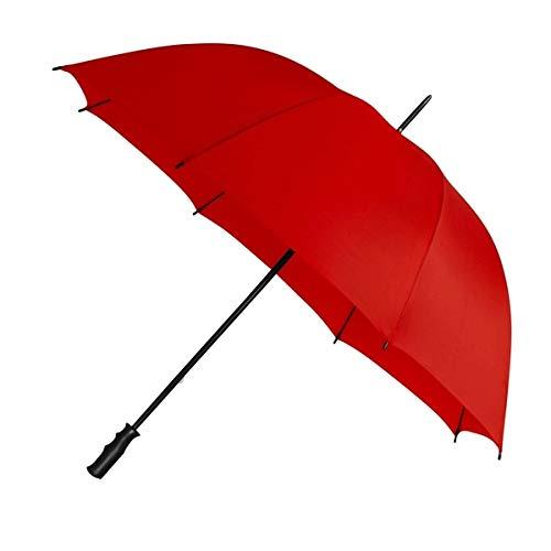 Impliva - Paraguas de Golf (125 cm), Color Rojo