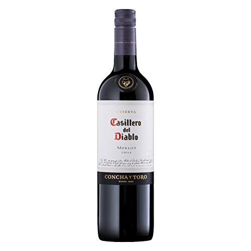 Casillero Del Diablo Merlot Chile 2015, 750ml