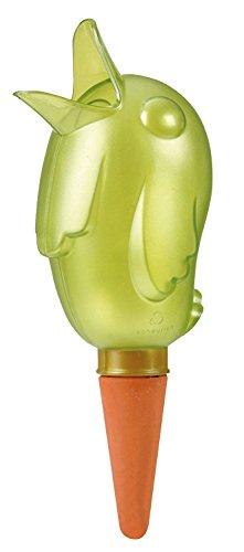 Scheurich Bördy XXL, Waterreserve Wasserspender aus Kunststoff und Tonkegel, Green Pearl, 33 cm hoch, 1,0 l Vol.