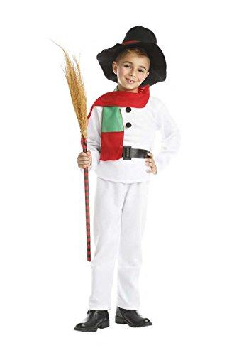 Disfraz de Muñeco de Nieve Infantil 7-9 años