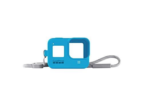 GoPro Hülle + Trageband für HERO8 Black - Bluebird (Offizielles GoPro Zubehör) Blau