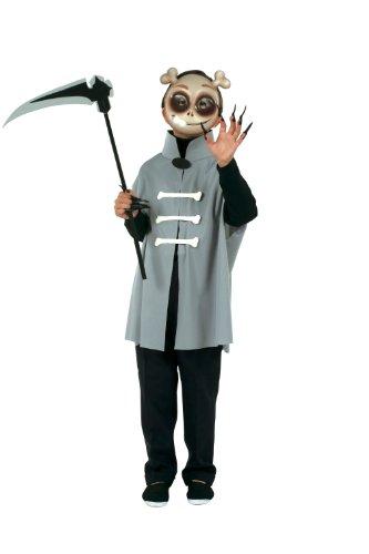 Cesar - O057-001 - Déguisement - Set de Cape et Masque de Squelette - 5/10 Ans