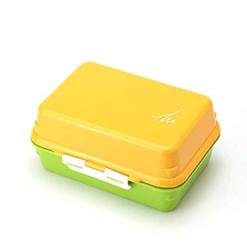 ジェルクール(Gel-Cool) ランチバッグ マンゴーイエロー×アスパラガスグリーン 容量: 490ml #914
