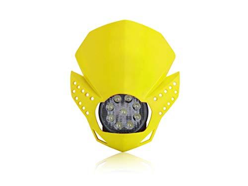Maske, LED, Gelb
