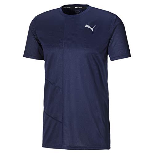 PUMA Ignite Herren Running T-Shirt Peacoat XS