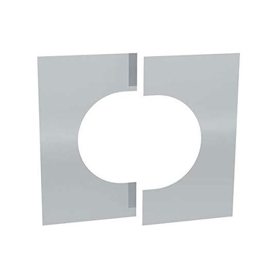 Ø 150 mm Jeremias DW FU Wand-/ und Deckenblende zweiteilig 0° - 30°