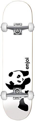 Enjoi Whitey Panda Skateboard für Erwachsene, Weiß