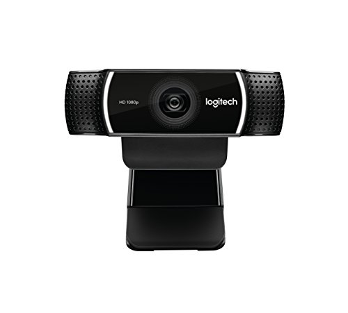 logitech C922 Pro Stream Webcam 1080P Camera for HD Video Streaming & Recording 960-001087(Renewed)