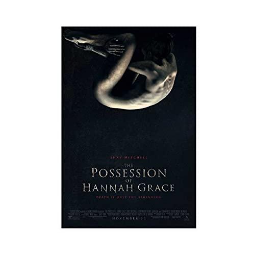 Hannah Grace 's Possession Horror-Filmposter, Leinwand-Poster, Wandkunst, Dekordruck, Gemälde für Wohnzimmer, Schlafzimmer, Dekoration, ungerahmt: 50 x 75 cm