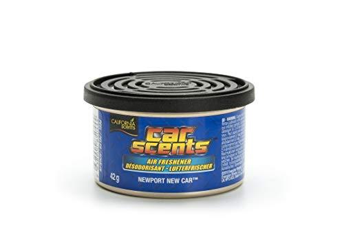 California Car Scents E301412600 Ambientador Olor Coche Nuevo, Azul