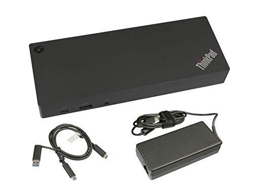 Lenovo USB-C/USB 3.0 replicador de Puertos Incl. 135W Cargador para la série Acer TravelMate B118-M