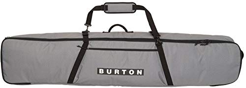Burton Wheelie Gig Board Bag, Gray Heather Print, 156