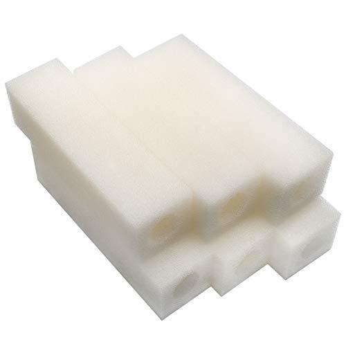 LTWHOME Compatible Cartouche Mousseux Filtration Convient pour Eheim 2012 Ramassage Filtres 2617120 (Paquet de 6)