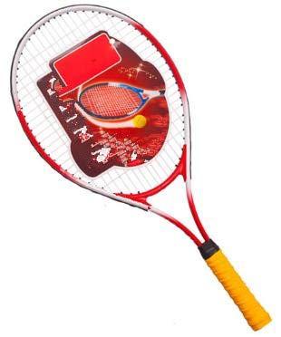 Lanzador de Raquetas de Tenis para Hombres y Mujeres Principiantes-Rojo