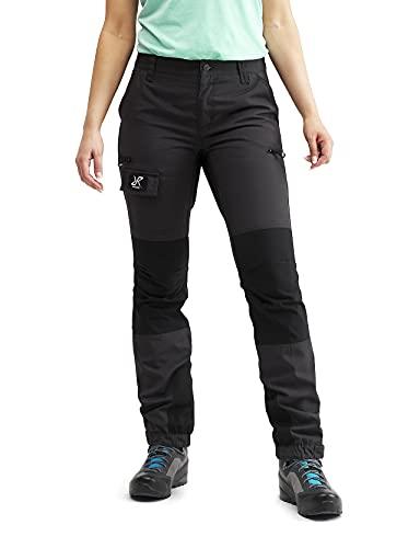 RevolutionRace Damen Nordwand Pants, Hose zum Wandern und für viele Outdoor-Aktivitäten, Grey, 42