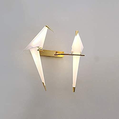 Beleuchtung Wandleuchte Wandtattoos Wandlampe Kunstzimmer Einfaches Wohnzimmer Thema Restaurant Wandlampe Freizeitbar Schöne Wandlampe Schlafzimmer Nachttischlampe Vogel Origami Wandlampe
