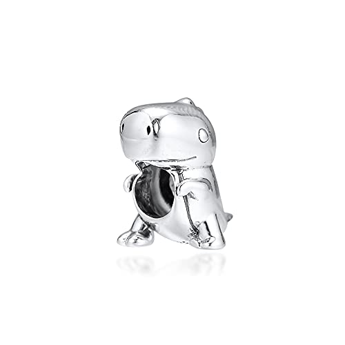 LIIHVYI Pandora Charms para Mujeres Cuentas Plata De Ley 925 La Joyería De Saurio Compatible con Pulseras Europeos Collars