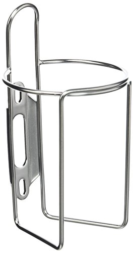 Velo Orange Retro Water Bottle Cage with Tab: Polish Stainless