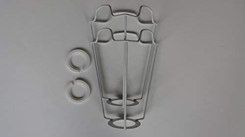 6 inch ES/UK schaduw frame drager TWIN PACK.ter ondersteuning van een lampenkap met duplex fitting.