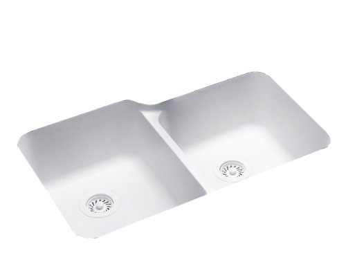 Swanstone US03015SB.010 Solid Surface Undermount Double-Bowl...