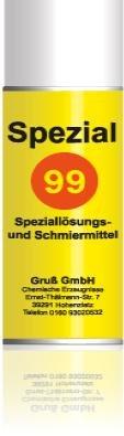 99 Speziallösungs und Schmiermittel 150ml