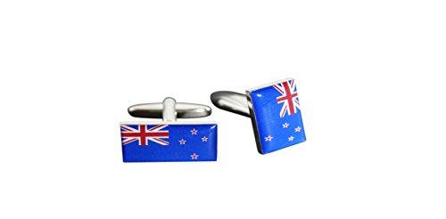 Flaggenfritze® Manschettenknöpfe Fahne / Flagge Neuseeland