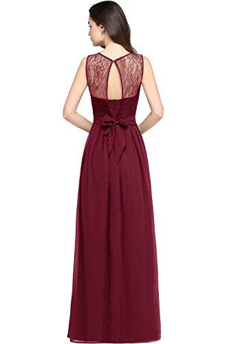 Babyonlinedress® Spitzen Abendkleider Vintage Retro Schwingen Partykleid Wundenschönes Kleider Maxikleid Elegant