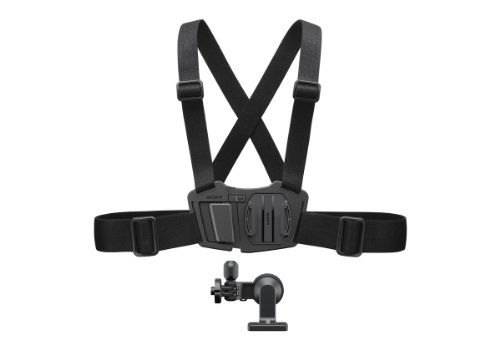 Sony AKACMH1 Chest Mount Harness for Action Cam (Black)