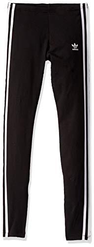 adidas Originals Damen Leggings mit 3 Streifen - Schwarz - X-Klein