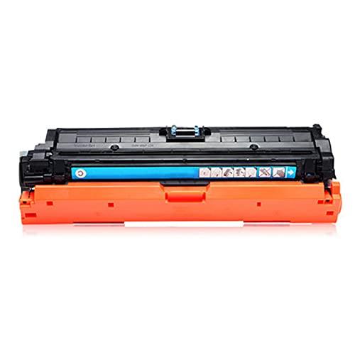 Cartucho de Tinta Compatible Reemplazar 307A CE740A para HP Color Laserjet Pro CP5225 CP5225N CP5225N CP5225DN CP5220 Impresora, Amarillo Negro Cian Magenta Amplia c Cyan
