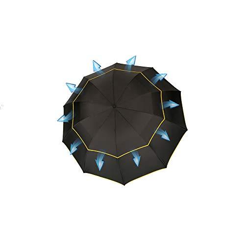 Parapluie De Qualité pour Hommes Imperméable Dames Coupe-Vent Hommes Et Femmes De Protection Solaire De Plein Air