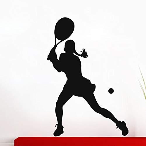 Tianpengyuanshuai muurstickers, tennisspeler, sport, fitnessstudio, muurschildering, muurschildering, woonkamer, slaapkamer, decoratie
