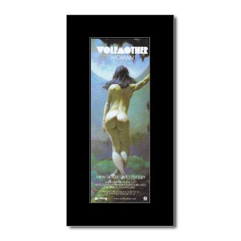 WOLFMOTHER - Woman Matted Mini Poster - 28.5x10cm