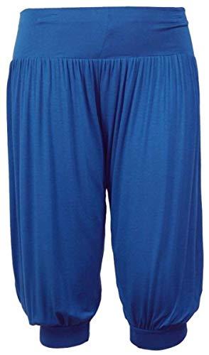 NAZ Fashion Vrouwen 3/4 Hareem Ali Baba Losse Baggy Broek Dames Crop Shorts Leggings UK 8-26