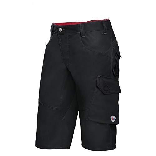 BP 1993-570-32-52n Shorts, Schlanke Silhouette mit elastischem Rückenteil, 250,00 g/m² Stoffmischung mit Stretch, schwarz, 52n