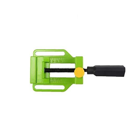 Zonfer Vise 1pc Pinzas Planas De Aleación De Aluminio Alicates para La Mesa De Sujeción De Tornillo Doble De Spike Libre Mini Mandíbula Portable De La Abrazadera Verde