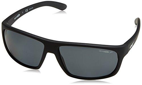 ARNETTE Burnout Gafas de sol, Fuzzy Black, 64 para Hombre