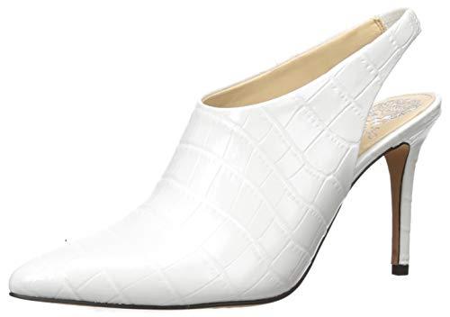 Vince Camuto Women's Amnedra Pump, White 01, 4 UK